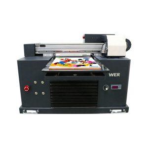 Spezifikationen Verwendung: Kartendrucker Plattentyp: Flachbettdrucker Zustand: Neue Abmessungen (L * B * H): 65 * 47 * 43 cm Gewicht: 62 kg Automatikgrad: Automatisch Spannung: AC220 / 110V Garantie: 1 Jahr Druckmaß: 16,5x30 cm , A4-GRÖSSE Tintenart: LED-UV-Tintenprodukte Name: Kleiner Drucker A4-Format Digitaldruckmaschine UV-Flachbettdrucker Tinte: LED-UV-Tinte Druckhöhe: 0-50mm Tintensystem: CISS-System Tintenfarben: CMYKWW Anzahl der Düsen: 90 * 6 = 540 Druckersoftware: WINDOWS SYSTEM EXCEPT WIN 8 Spannung :: AC220 / 110V Bruttoleistung: 30W