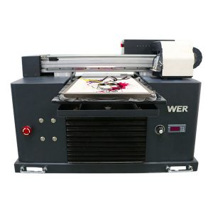 Eco-Solvent-Flachbettdrucker hoher Qualität und niedriger Preis / digitaler Flachbett-T-Shirt-Drucker
