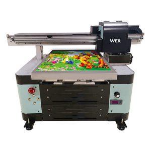 Uv-flachbettdrucker der größe A2 für metall / telefonkasten / glas / stift / becher