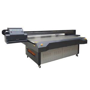 LED-Flachbett-Druckermaschine über Handwerksglas