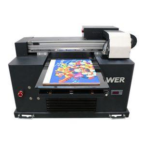 2019 neue dx5 kopf flachbettdrucker a3 größe uv led druckmaschine