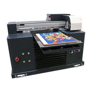 Tintenstrahldruckmaschine führte Flachbett-UV-Drucker für die Größe a3 a4