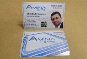 Prining-Muster für Visitenkarten von Desktop-UV-Druckern - Größe A2 WER-D4880UV