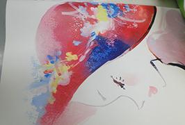 Kunstleder-Print