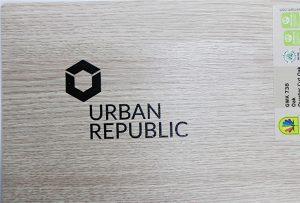 Logodruck auf Holzwerkstoffen von WER-D4880UV 2