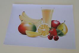 PVC-Banner, das mit einem Öko-Lösemitteldrucker WER-ES3201 (3,2 m) gedruckt wird
