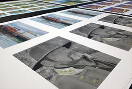 Fotopapier mit einem 1,8 m langen Eco-Solvent-Drucker gedruckt WER-ES1802 2