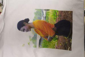 T-Shirt Druckmuster für Burma-Client vom Drucker WER-EP6090T