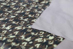 Textildruckmuster 1 mit der digitalen Textildruckmaschine WER-EP7880T