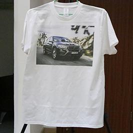 Weißes T-Shirt-Druckmuster mit dem A3-T-Shirt-Drucker WER-E2000T 2