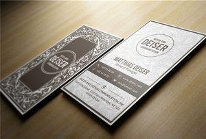 Namenskarte aus Holz gedruckt von A1 uv WER-EP6090UV